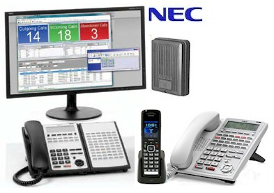 NEC SL1100 Console & Phones