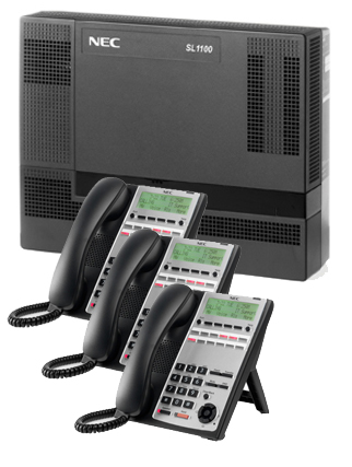 NECSL1100 KSU 3 12B phones - NEC SL1100