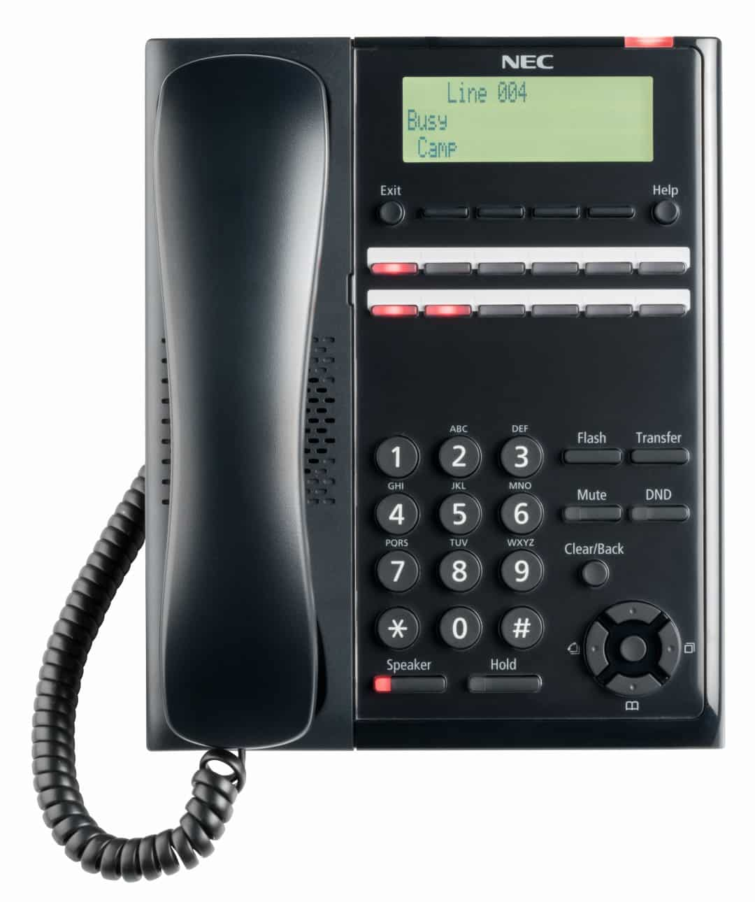 NEC SL2100 12 Button Digital Telephone front view - NEC SL2100