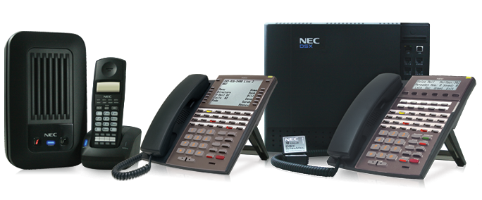 NEC DSX Business Phone System with Cordless Phone