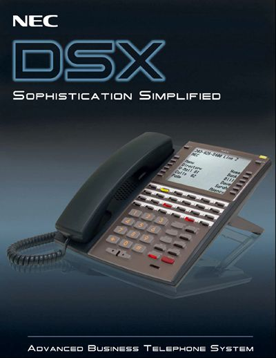 NEC DSX promotional cover
