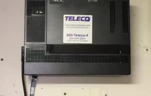 NEC SL1100 install for Hudson Valley News Network