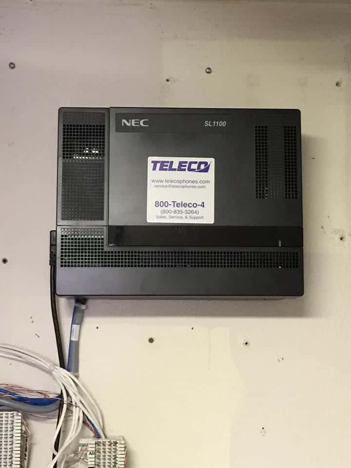 NEC SL1100 install for Hudson Valley News Network