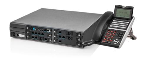 NEC SV9100 with handset - NEC SV9100